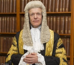 Lord Justice Fulford pedo