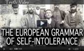 The European grammar of self Tollerence Johnathon Bowden